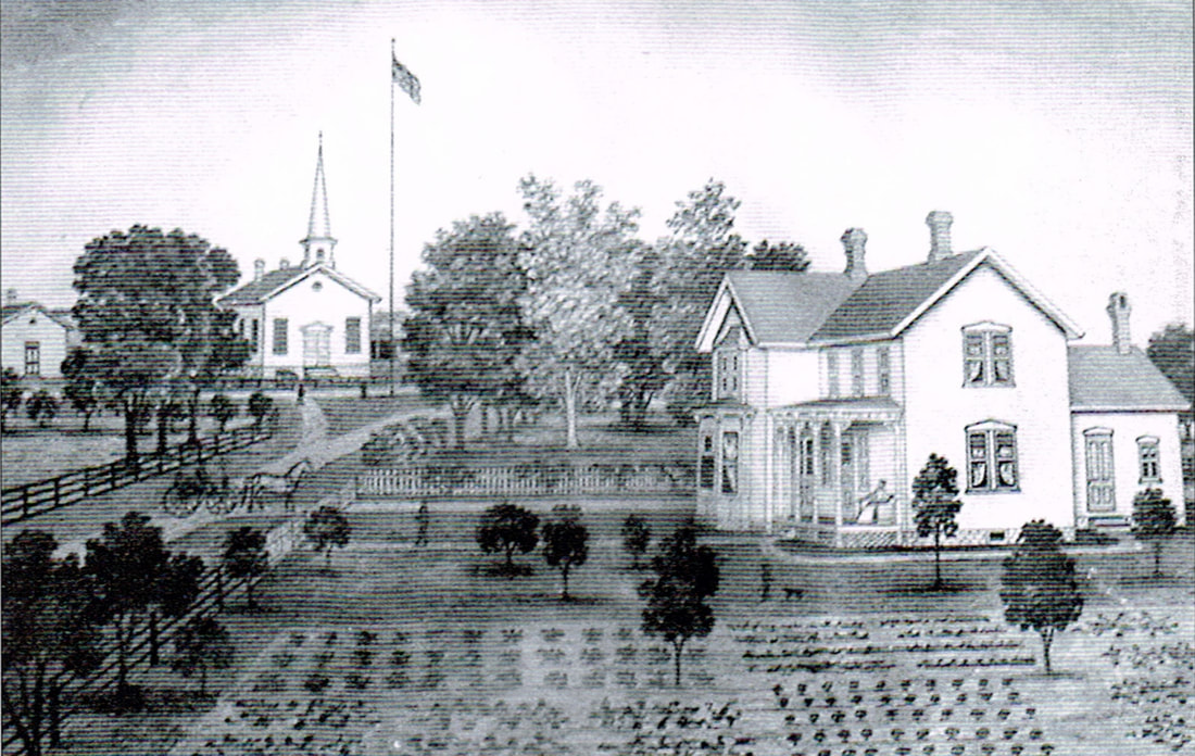 Early sketch of East Delavan